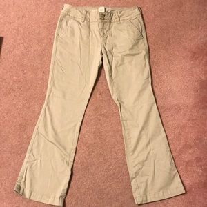 Arizona Jean Company Pants - JC Penney's Arizona Jeans Juniors Khaki Pants